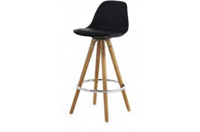 tabouret de bar scandinave noir uma tabouret de bar pas cher. Black Bedroom Furniture Sets. Home Design Ideas