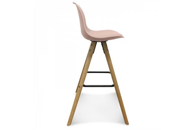 tabouret de bar scandinave rose umai tabouret de bar pas. Black Bedroom Furniture Sets. Home Design Ideas