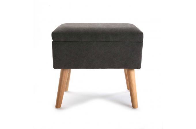 pouf marron stolica petit tabouret pas cher. Black Bedroom Furniture Sets. Home Design Ideas