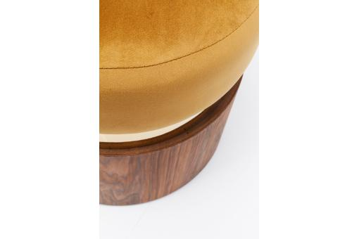 Tabouret Rond Jaune LILLY