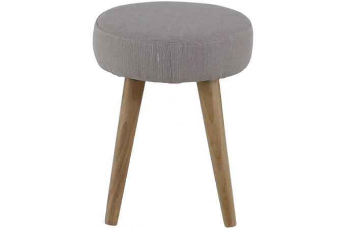 tabouret scandinave gris beige matyas petit tabouret pas cher. Black Bedroom Furniture Sets. Home Design Ideas