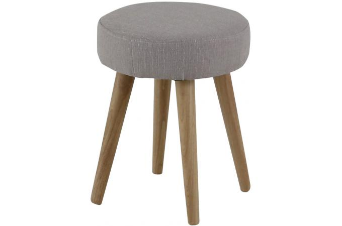 tabouret scandinave gris beige matyas petit tabouret pas cher. Black Bedroom Furniture Sets. Home Design Ideas