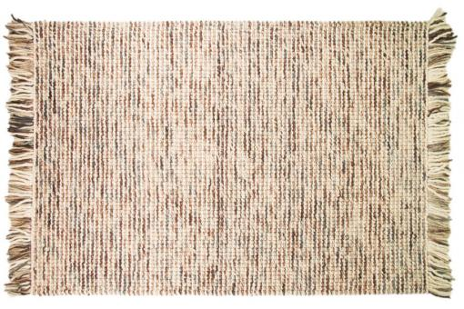 tapis 100 laine finition manuelle azteca 80x150 chocolat tapis design pas cher. Black Bedroom Furniture Sets. Home Design Ideas