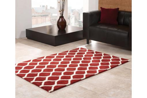 Tapis Design Rouge