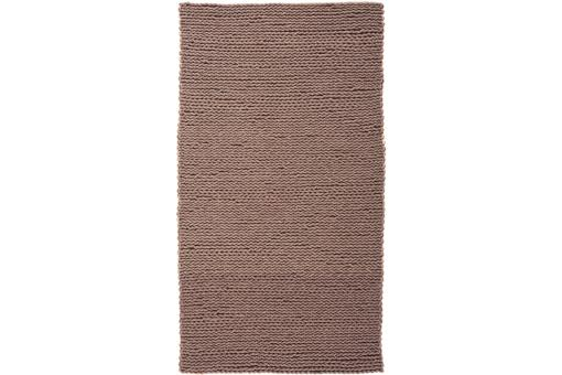 Tapis 100% laine finition manuelle WATERFALL 80X150 Gris