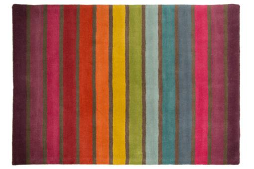 Tapis 100% laine finition manuelle CRUSH 80X150