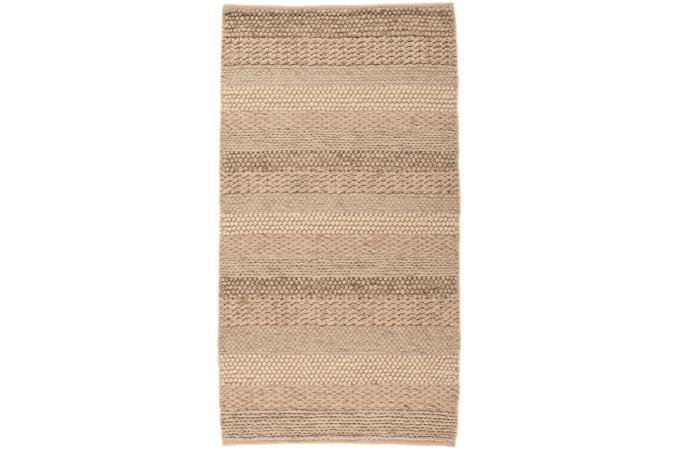 tapis 100 laine wave 120x170 naturel tapis design pas cher. Black Bedroom Furniture Sets. Home Design Ideas