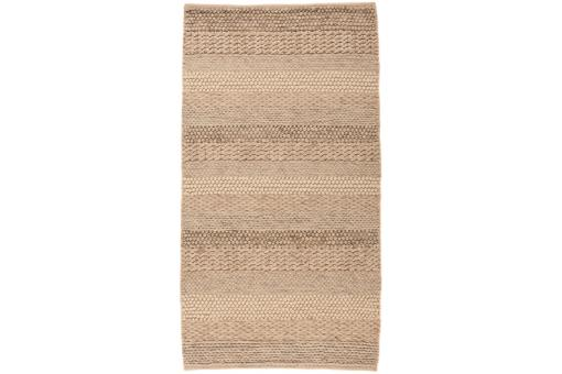 Tapis 100% laine WAVE 80X150 Naturel