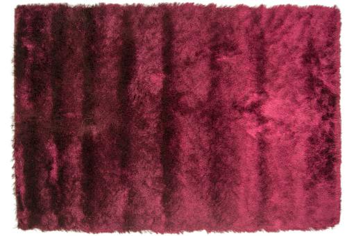 tapis 100 polyester brighton 60x110 prune tapis shaggy. Black Bedroom Furniture Sets. Home Design Ideas