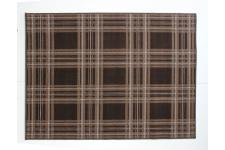Tapis 100% polypropylene CHESS 160X220 Chocolat - Tapis marron