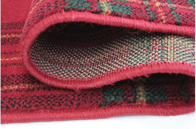 tapis 100 polypropylene chess 160x220 rouge tapis design pas cher. Black Bedroom Furniture Sets. Home Design Ideas