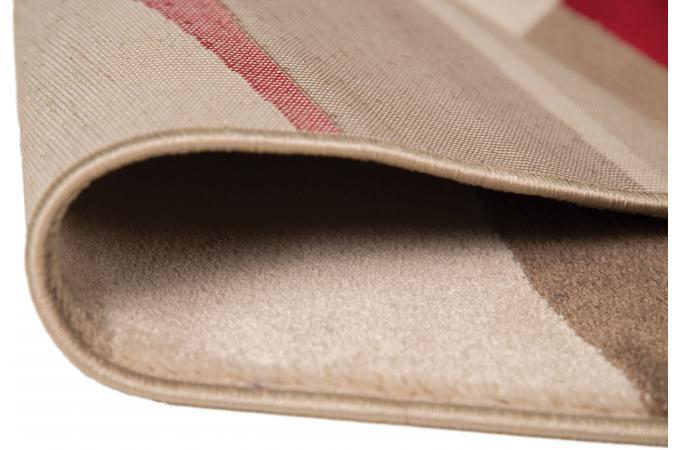 tapis 100 polypropylene dear 160x230 rouge tapis design pas cher. Black Bedroom Furniture Sets. Home Design Ideas