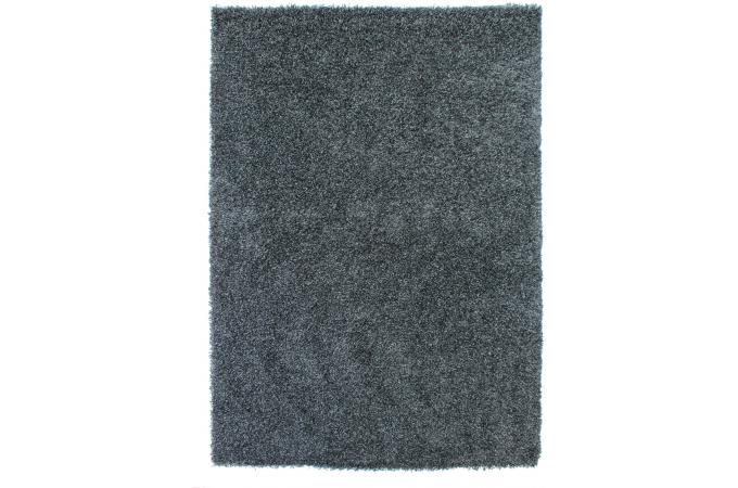 Tapis 100 Polypropylene Shaggy Epaisseur 4cm 120x160 Noir Tapis Shaggy Pas Cher