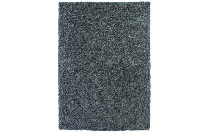 Tapis 100 polypropylene shaggy epaisseur 4cm 140x200 noir tapis shaggy pas - Tapis shaggy noir pas cher ...