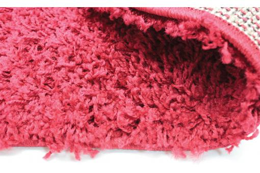 Tapis Shaggy Rouge