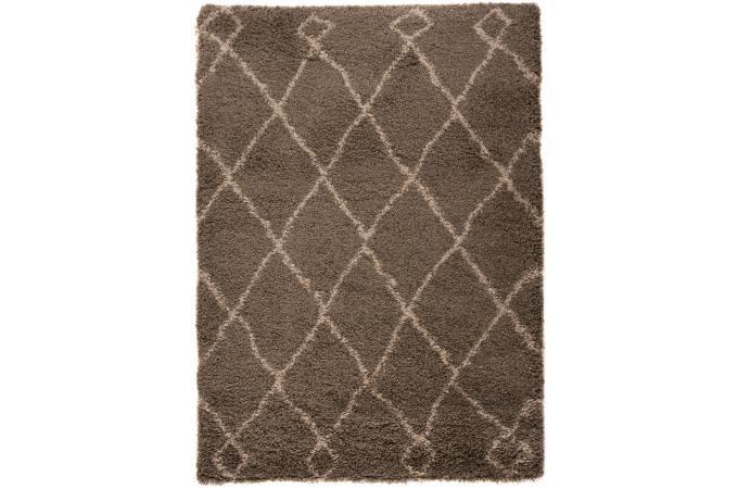 Tapis 100 polypropylene zumba 120x170 gris clair tapis shaggy pas cher - Tapis gris clair pas cher ...