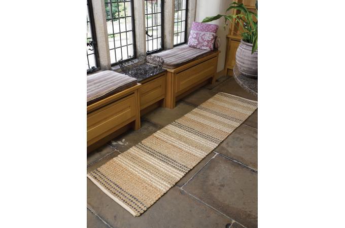 tapis naturel et coton 80x150 natura tapis classiques pas cher. Black Bedroom Furniture Sets. Home Design Ideas