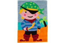 Tapis Acrylique et polyester 140gms PIRATE 70X100 - Tapis multicolore