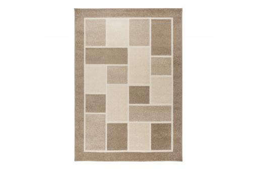 Tapis Design Marron 170x120cm JANEL - Tapis design
