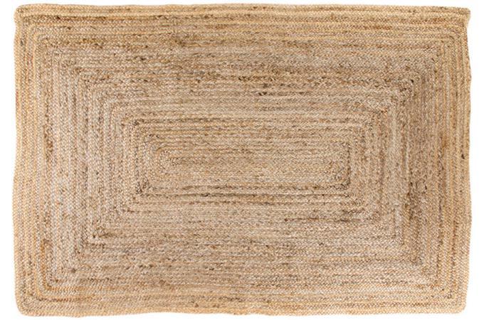 tapis en coton beige 120x180cm bombay tapis pas cher. Black Bedroom Furniture Sets. Home Design Ideas