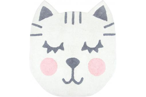 Tapis enfant chat 100x110 FIGA - Tapis enfant design