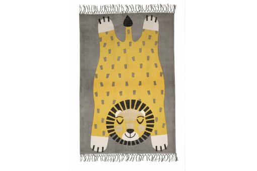 Tapis enfant rectangulaire lion 110x170 LEONO - Tapis enfant design