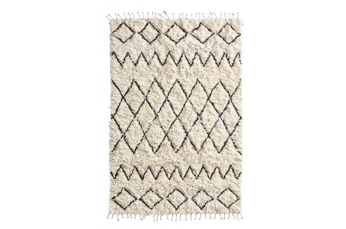 Tapis Berbere Ecru 120x180 Bamby Tapis Design Pas Cher