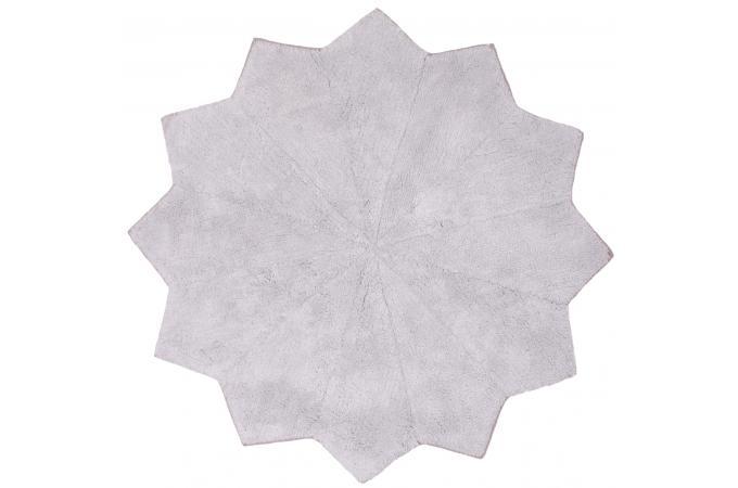 Tapis toil gris 110cm loops tapis enfant pas cher - Tapis etoile gris ...