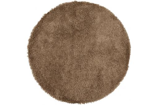 tapis rond marron 200x200x3 cm sekai tapis design pas cher. Black Bedroom Furniture Sets. Home Design Ideas