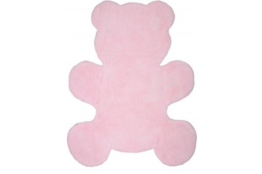 Tapis ourson rose 80x100cm BEAR