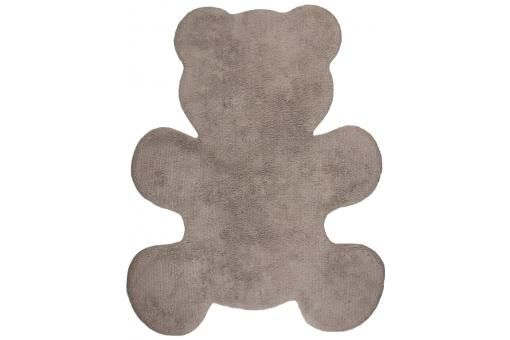 Tapis ourson taupe 80x100cm BEAR