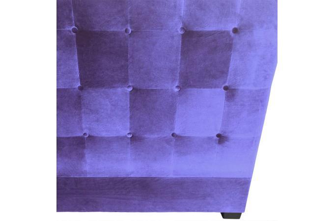 T te de lit capitonn e 160 cm velours violet paca t te de lit pas cher - Tete de lit capitonnee 160 pas cher ...
