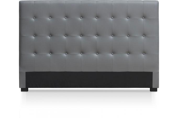 T te de lit capitonn e 180 cm cocoon gris t te de lit pas cher - Tete de lit 180 cm pas cher ...