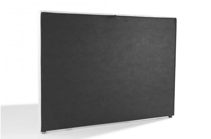 t te de lit capitonn e blanche 160x200 orlena t te de lit pas cher. Black Bedroom Furniture Sets. Home Design Ideas