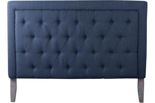 t te de lit en tissu capitonn gris anthracite 160x120x11 dilyn t te de lit pas cher. Black Bedroom Furniture Sets. Home Design Ideas