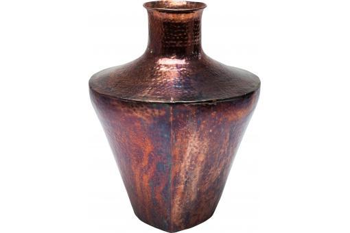 vase d coratif oxygen hammered cuivr vase pas cher. Black Bedroom Furniture Sets. Home Design Ideas