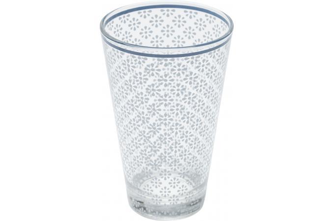 verre kare design a cocktail impression g om trique bleu sweet home mug verre pas cher. Black Bedroom Furniture Sets. Home Design Ideas