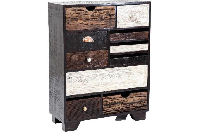 Commode kare design finca 10 tiroirs meuble de rangement pas cher - Meuble kare design ...