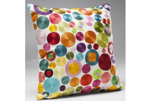 Coussin circles multi colour 45x45cm coussin pas cher - Coussin colore pas cher ...