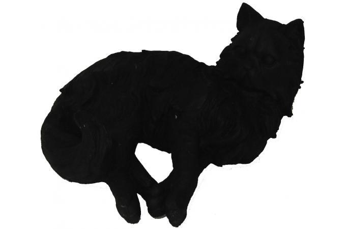 figurine noire en polyr sine rexana statue design pas cher. Black Bedroom Furniture Sets. Home Design Ideas