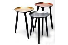 Table d'Appoint Set de 3 Tables d'appoint Kare Design, deco design