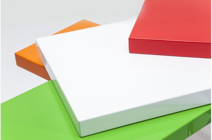 Table basse micado colore 105x94cm table basse pas cher - Table basse colore ...