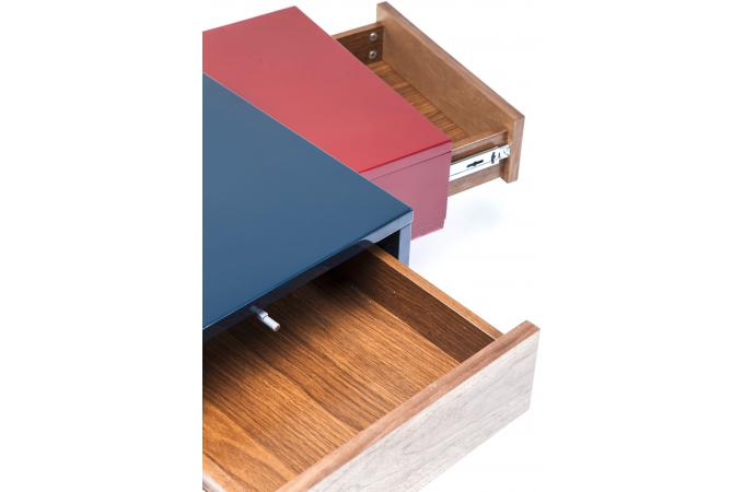 table basse micado colore 140x90cm table basse pas cher. Black Bedroom Furniture Sets. Home Design Ideas