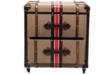 Table d'Appoint Table de Nuit Kare Design 2 Tiroirs Coffre Angelo, deco design