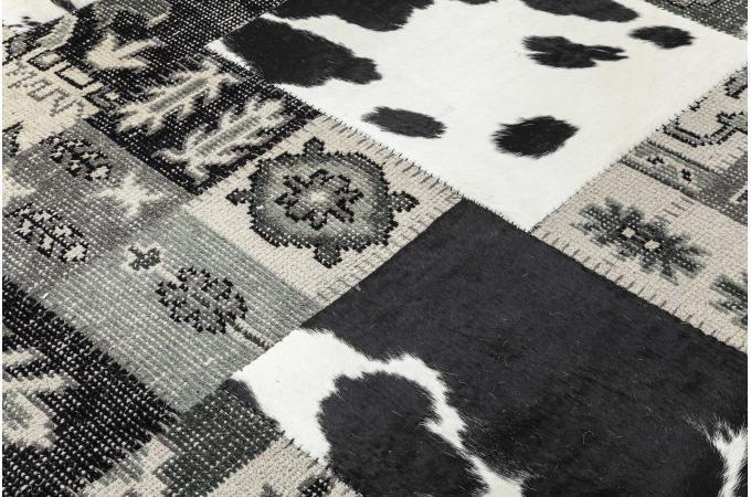 tapis square mix it black 170x240cm tapis design pas cher. Black Bedroom Furniture Sets. Home Design Ideas