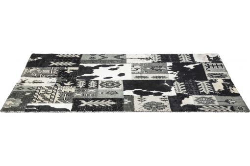 Tapis Square Mix It Black 170x240cm