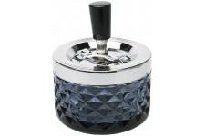 Cendrier Kare Design Crystal Noir, deco design