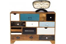 Commode Commode en Bois Kare Design 14 Tiroirs George, deco design