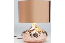 Lampe à Poser Lampe de table bronzée en polycarbonate Roxane, deco design