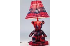Lampe à Poser Lampe de table rouge en polyester Renée, deco design